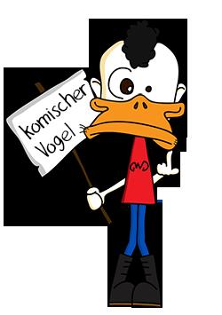 Donald - komischer Vogel